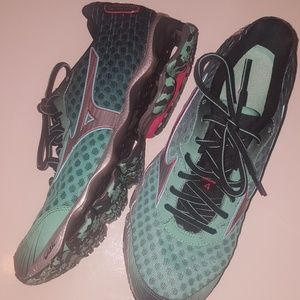 Mizuno Wave Prophecy 4 ~AQUA~ Running Shoes